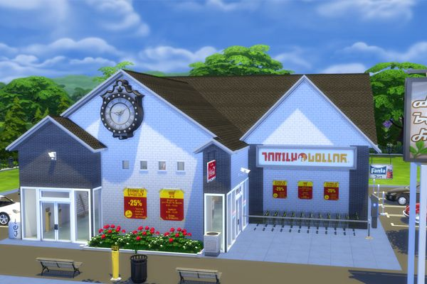 Fresh Rush Grocery for Sims 4