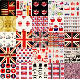 My Sims 3 Blog: 25 British Inspired Patterns by Tencentsims