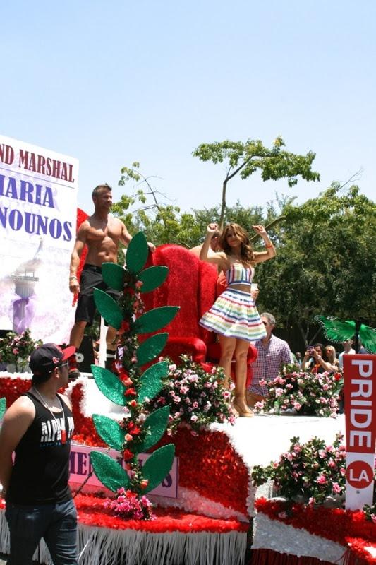 L.A.'s Pride Parade 2013 Maria Menounos Grand Marshal