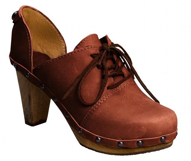 Wooden Clogs. Pumps. Oxfords. Rustic Lace up. www.clog-heaven.com