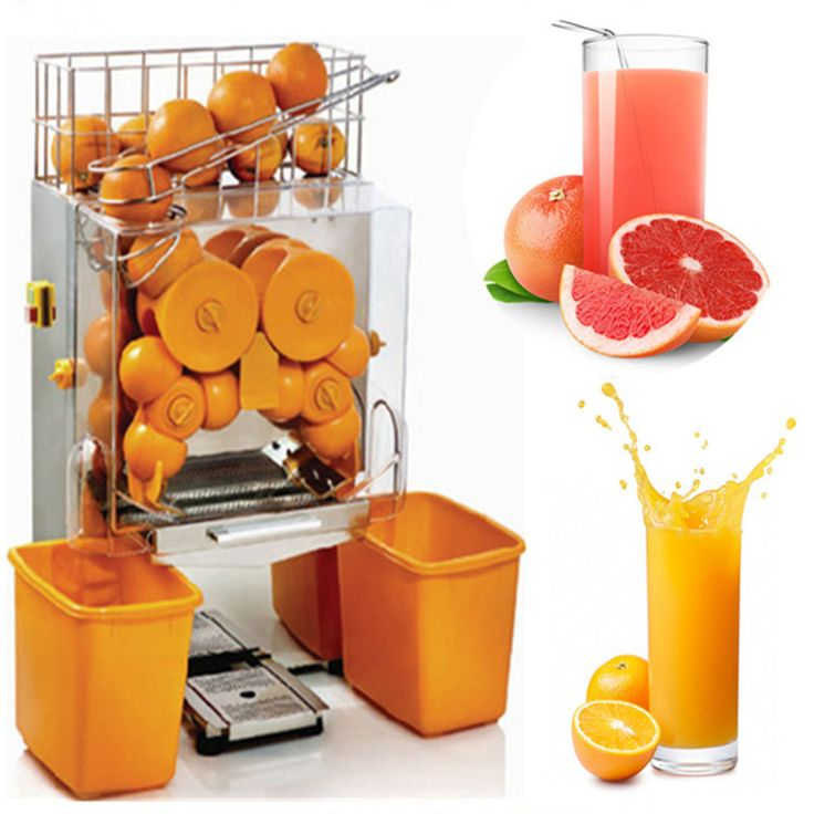 Commercial electric automatic orange juicer extractor orange squeezer orange juicing machine