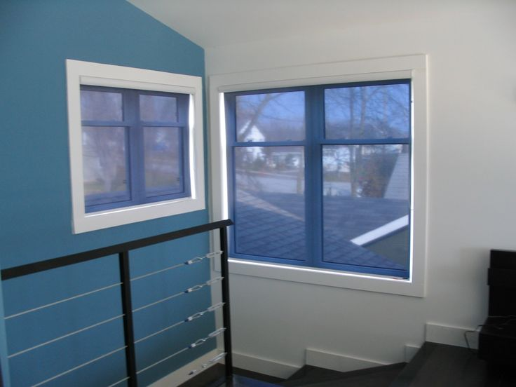 Our customer wanted to maintain his view to the outside but block the blinding glare that was pouring in through these corner windows. Mission Accomplished!!  Grey/Silver embossed with white valance cassette. Rejecting 82% of Sun's heat, 91% of Glare and 99% of UV light.