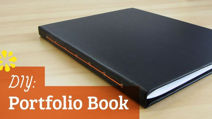 How to Make a Portfolio Book (VIDEO)  Perfect for making a custom BOS