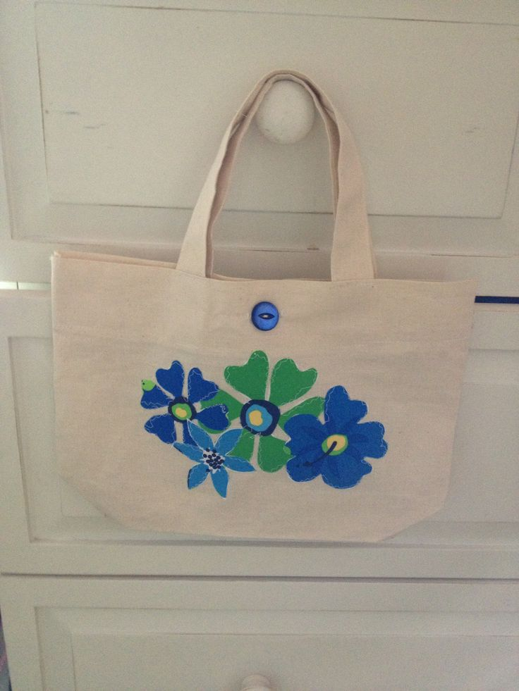 Handmade Summer Tote Bag £12 by Art with Flowers