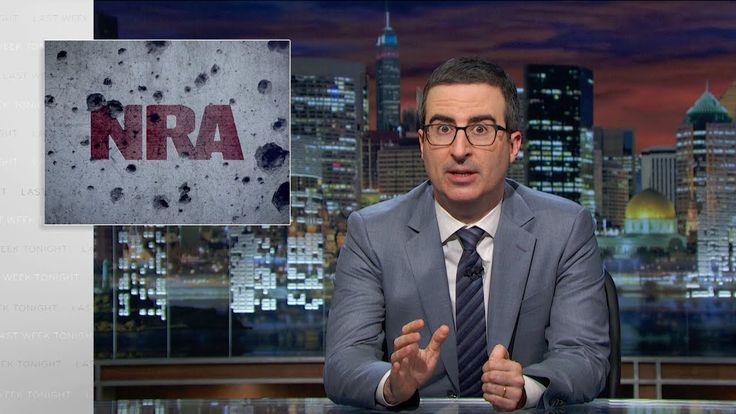 NRA: Last Week Tonight with John Oliver (HBO)