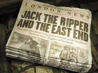 Jack the Ripper - The First Media Murderer | Historic Newspapers Blog