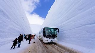 Tateyama Kurobe Alpine Route in Japan. Ran across this and had to pin it as DC is shut down over 4 inches today.
