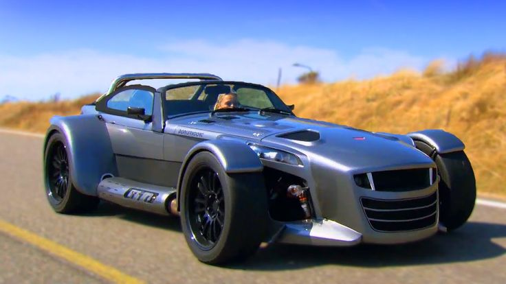 Vicki Tests The Donkervoort D8 GTO - Fifth Gear