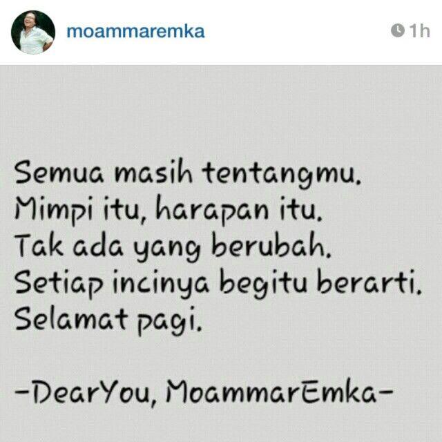 Tentang kamu...