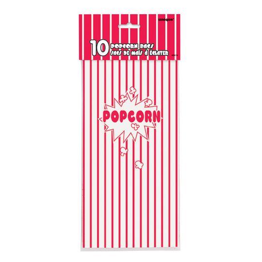 Paper Popcorn Bags, 10ct