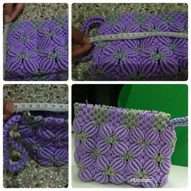 #wallet #handmade #purple