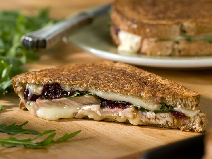 Get this delicious and easy-to-follow Turkey, Cranberry and Fontina Panini recipe at Food Network.