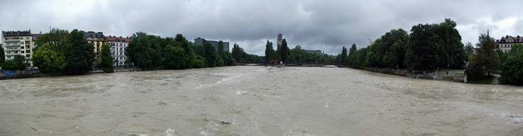 Isar Hochwasser (Juni 2013)
