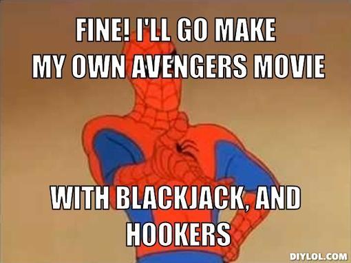 6b7744b6f1d10fcfcb5eebbbed1460d7 spider meme funny spider 210 best spider man memes images on pinterest funny stuff, funny,Spiderman Cancer Meme Generator