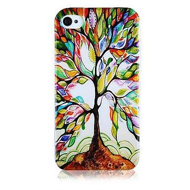 EUR € 3.83 - Tree of Restaurering mønster Silicone Soft Taske til iPhone5/5S , Gratis Fragt På Alle Gadgets!
