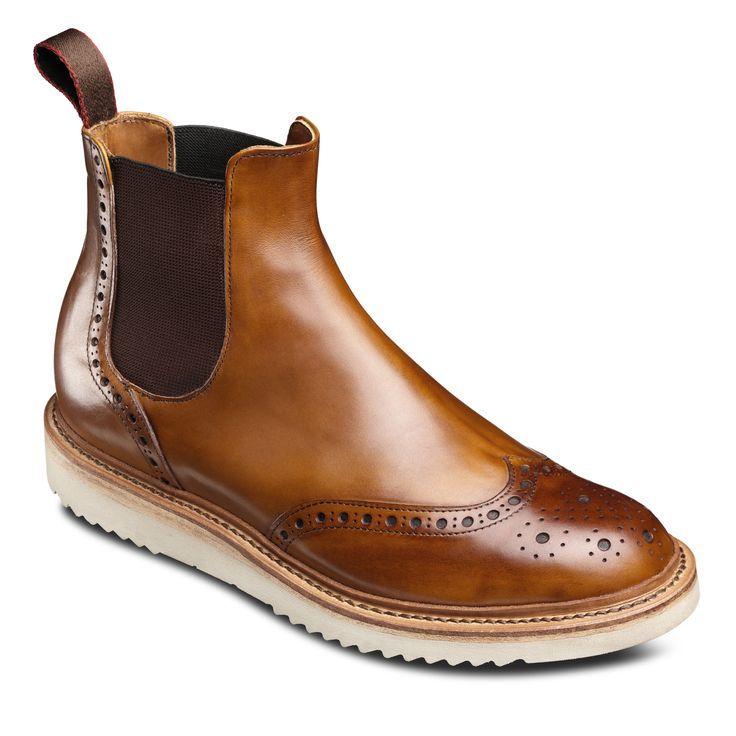 Walker Brogue Chelsea Boot by Allen Edmonds