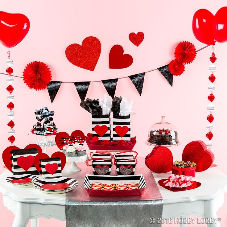 Schön From Hobby Lobby · You Can Really Party Heart Y With This Cute Collection  Of Valentineu0027s Day Party Ware