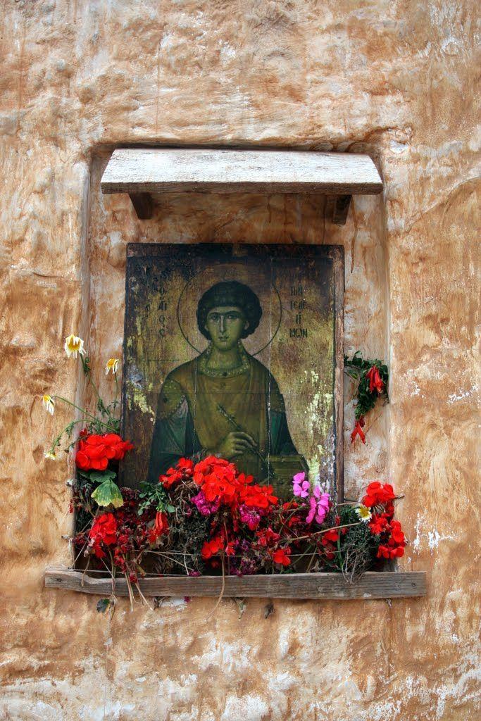 We ♥ Greece | Saint Pantaleon (all-compassionate) #Greece #travel #explore