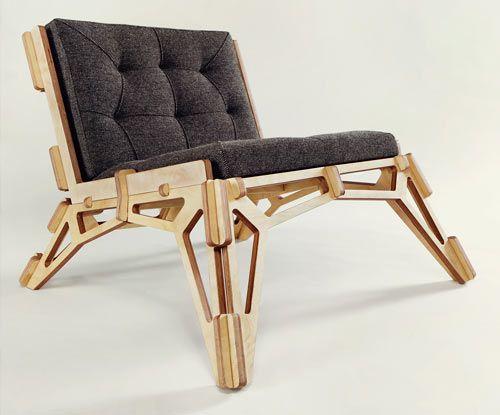 Spaceframe Furniture by Gustav Düsing