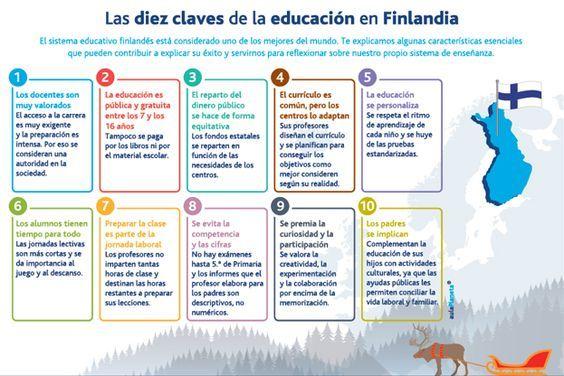 Finlandia según el Índice de Competitividad Global (ICG) del Global Economic Forum se encuentra entre los 3 primeros países más competitivos del mundo. Las razones para este excelente desempeño son...