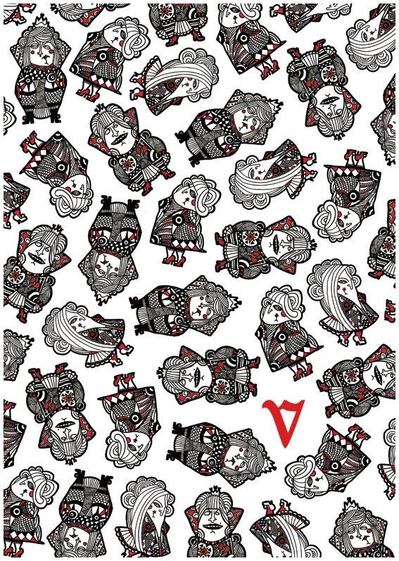 Patterns by Vanessa Teodoro, via Behance