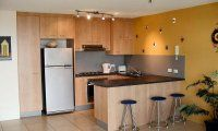 Seafarer Chase Apartments - Top Floor Apartment Kitchen - Caloundra Holiday Apartments