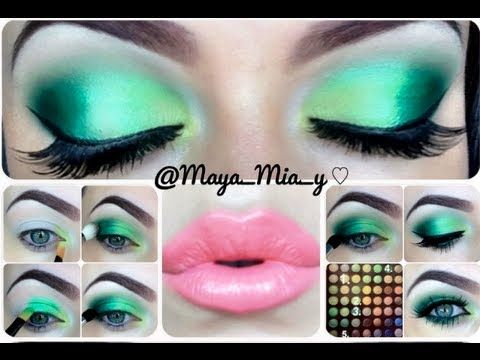 Green Eye Makeup Tutorial