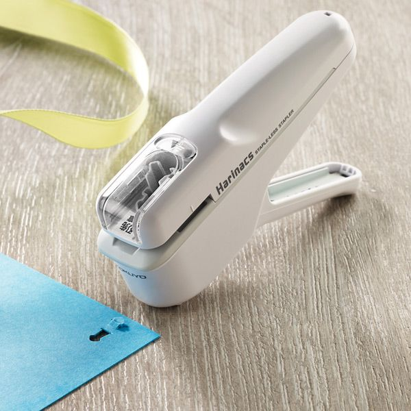 Staple-Free Staplers - Staple papers together without staples!