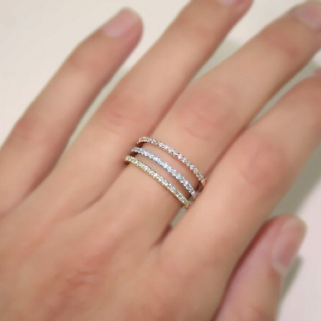 Micropave Wedding Rings