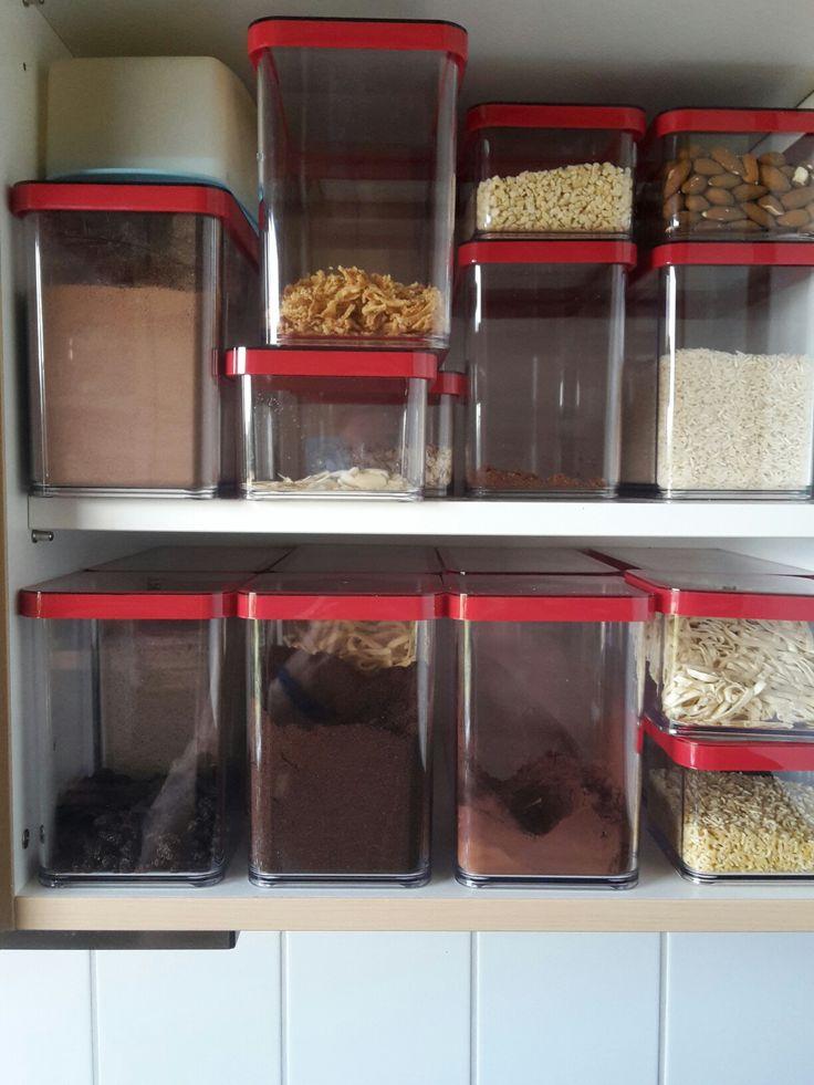Vorräte immer griffbereit und den Platz optimal genutzt Küche - ordnung kleiderschrank tipps optimalen einraumen