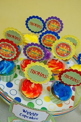 Cute idea for a Wiggles birthday party theme