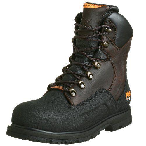 "Timberland PRO Men's G48Powerwelt Waterproof 8"" Steel Toe Boot - http://authenticboots.com/timberland-pro-mens-g48powerwelt-waterproof-8-steel-toe-boot/"