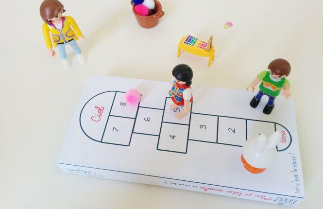 jeu de maitresse pour Playmobil à imprimer