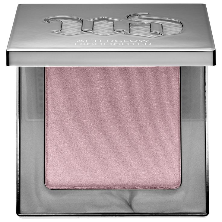 Aura & Champagne  Shop Urban Decay's Afterglow 8-Hour Powder Highlighter at Sephora. It provides a radiant, strobed effect and an enhanced, perfected complexion.