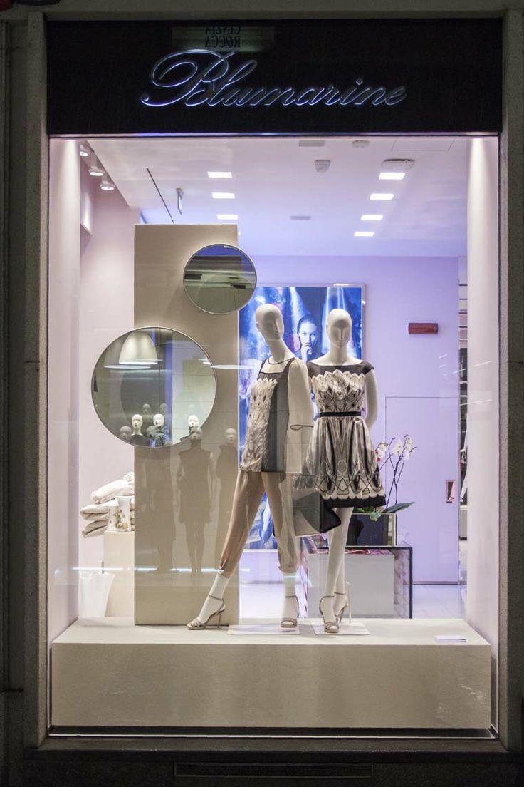 Blumarine Milan Boutique Windows - January 2014