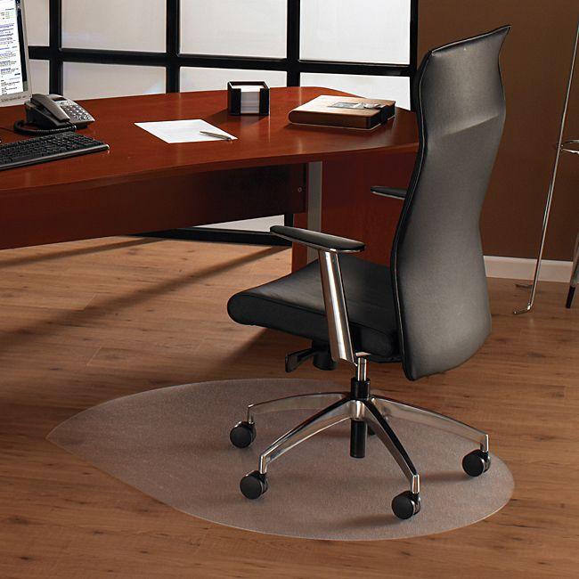 Floortex tex Ultimat Contoured Chair Mat.
