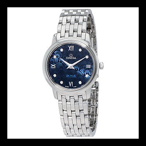 Omega De Ville Blue Dial Ladies Watch 42410276053003 ** Continue to the product ...