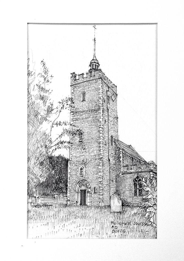 Felsted Church, Essex