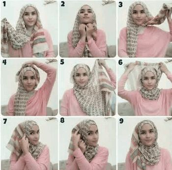 triangle scarf how to wear