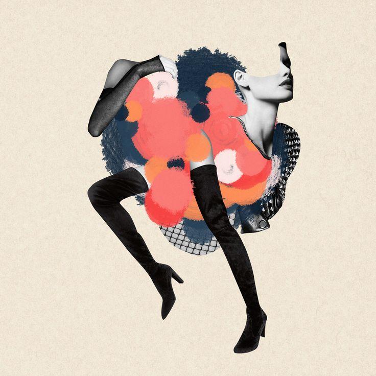 Third | Collage fashion illustrations on Behance