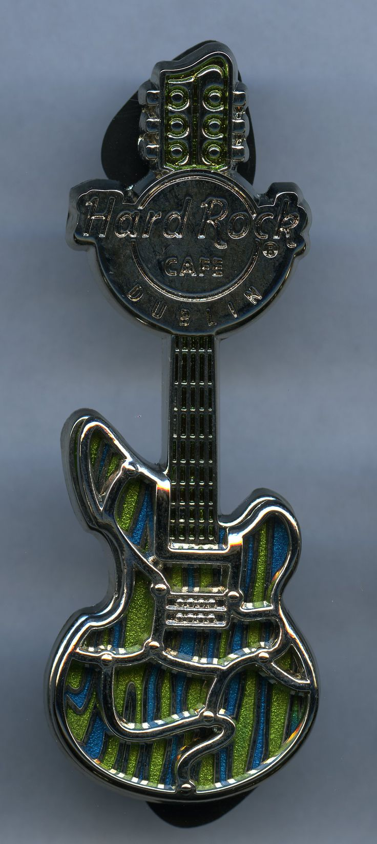 Dublin - Hard Rock Cafe Guitar Pin