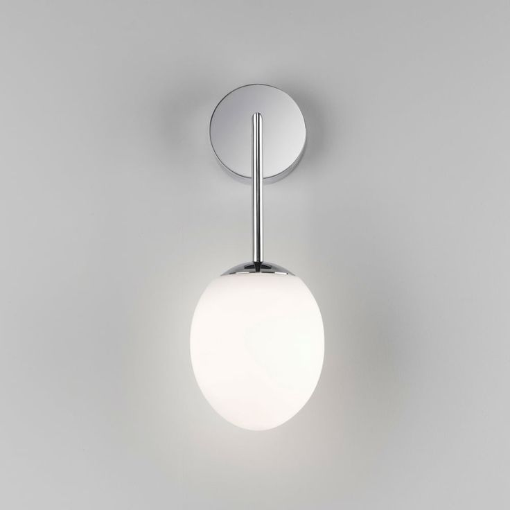 Kiwi ip44 led bathroom wall light in chrome