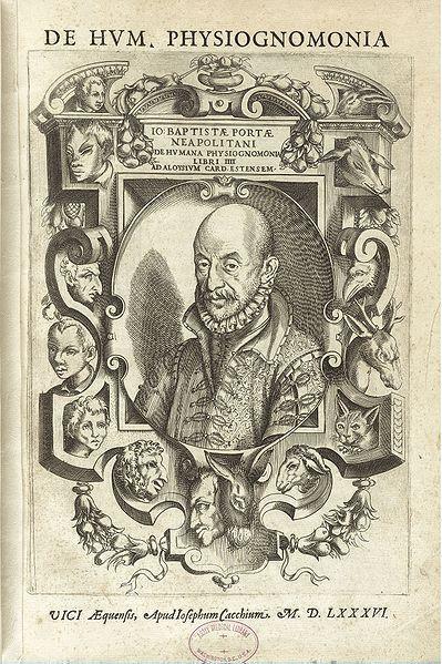 Giambattista della Porta's De humana physiognomonia libri IIII (1586) | The Public Domain Review