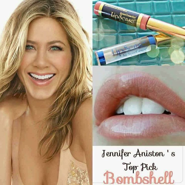 "The ""Most beautiful woman in the world "" Jennifer #Aniston wears #LipSense! Her favorites are Bombshell and Pink Champagne! Don't you think it's time you try it too? I have both in stock. Text me, call me, PM me, or Email me to find out more about Lipsense! Miaabutler@gmail.com✨"