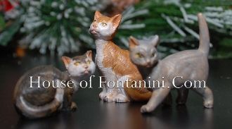 "Cats - Fontanini 5"" Collection - House of Fontanini® - The Internets Most Complete Fontanini® Gift Store"