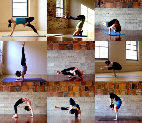 Advanced Yoga for amazing arms.  I will do this.  Maybe not tomorrow, but one day!