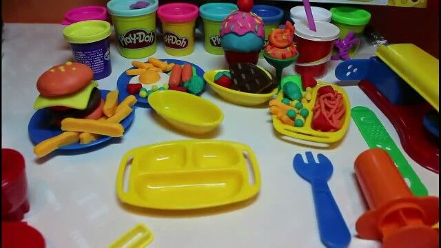 Food out of play dough
