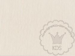 Königreich der Stoffe - Swafing 1 mm Streifen Caravelle beige-weiß -