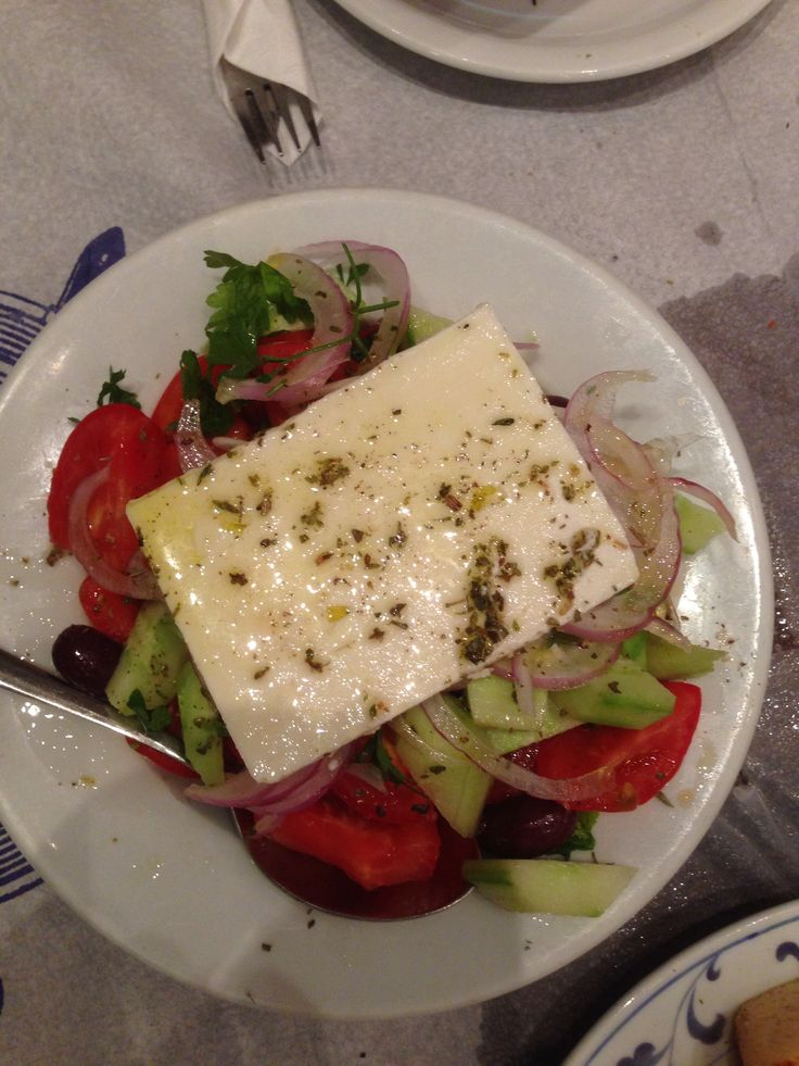 Greek salad- selanik