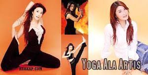 Cara Melangsingkan Tubuh Ala Artis Dengan Latihan Yoga Serta Video Latihan